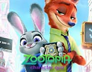 Zootopia Quiz dos Personagens